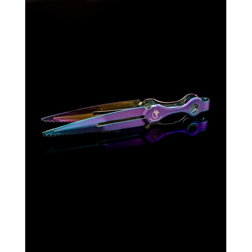 Pinzas Dschinni Combat Tweezer Purple Rain