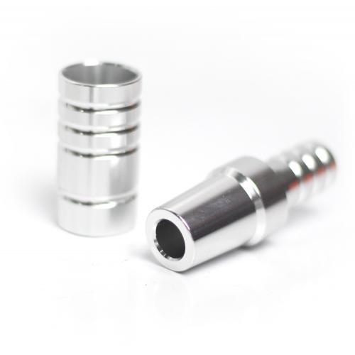 Adaptador Manguera AMY Alu + Conector Silver