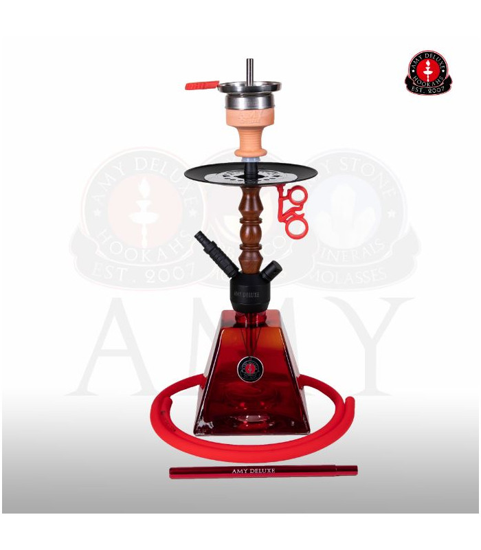 Amy 090.02R Falcon Pyrawood Red