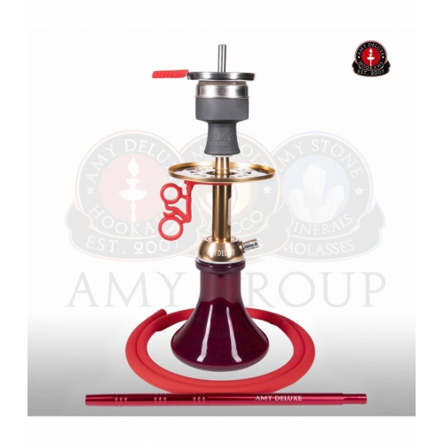 Amy 116.03 Alu Buzz Bag Gold Red