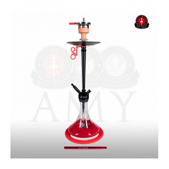 Amy 066.01 Alu Deluxe Red Black