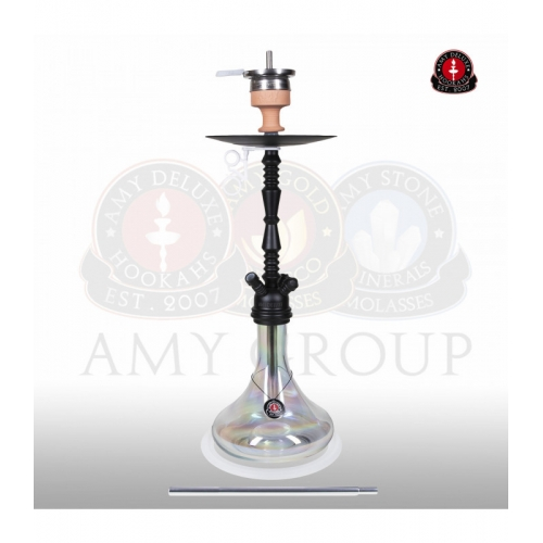 Amy 059R Zoom Clear Black