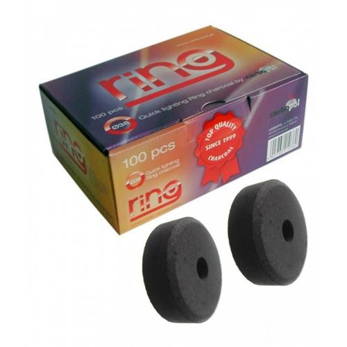 Carbon Autoencendido Carbopol Ring 38mm - Caja